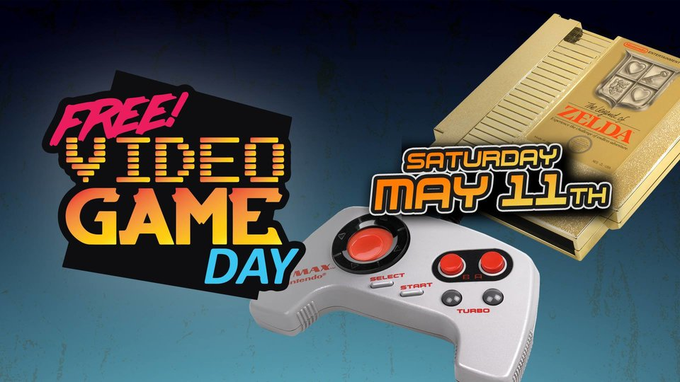 Free Video Game Day 2019 - Rocket City Arcade & Classic